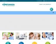 Bild Webseite CONFIANZA München