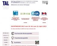Website TAL 19 - Beratung  u. Therapiezentrum für Suchtgefährdete u. Abhängige Suchthilfe
