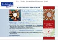 Bild Webseite Allgemeine Krankengymnastik für den ganzen Menschen München