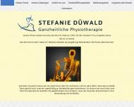 Bild Webseite Heine A. Physiotherapie Berlin