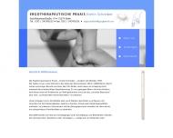 Bild Webseite Ergotherapeutische Praxis Evelin Schreiber Berlin