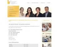 Bild Webseite Linden Sabine Dr.med. Frauenarztpraxis München