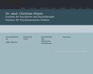 Bild Webseite Mayer Christian Dr.med. München