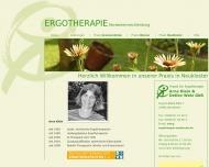 Website Welz Detlev Praxis für Ergotherapie