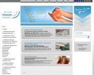 Bild Webseite Schwarz Claudia Praxis für Physiotherapie Dresden