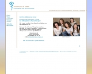 Website Osteopathie & Physiotherapie - Privatpraxis THOMAS in Darmstadt ...