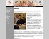 Bild Webseite Windler, Krankengymnastik Berlin
