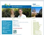 Bild Webseite Puhl Björn Praxis für Ergotherapie Köln