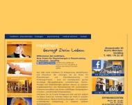 Bild Webseite medithera München
