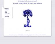 Bild Webseite Büchl Norbert Dr.med. Schramm Axel Dr.med. München