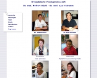 Website Büchl Norbert Dr.med. Schramm Axel Dr.med.