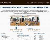 Bild Webseite Ars Movendi München