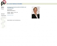 Dr. med. Barbara Schaible - Patienten Information