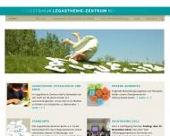 Bild Webseite Legasthenie-Zentrum Spandau Psychotherapie und Beratung Berlin