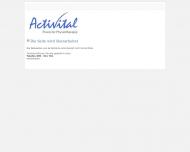 Bild Webseite Pfeifer Eva Activital Praxis für Physiotherapie München
