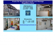 Bild Massage u. Krankengymnastik Beier M.