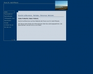 Website Mbarek Hédi Dr. Allgemeinarzt Psychotherapie