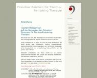 Bild Webseite Tinnitus-Retraining Therapie Staemmler Christine Dresden