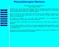 Bild Mertens H. Physiotherapiepraxis