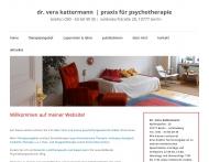 Bild Webseite Kattermann Vera Dipl.-Psych. Psychotherapie Berlin