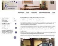 Website Cornelius Mechthild Krankengymnastikpraxis
