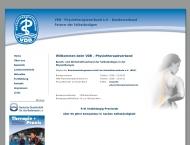 Bild Webseite VDB-Physiotherapieverband Landesverband Sachsen Dresden