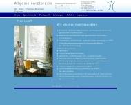 Website Grasser Thomas Dr.med. Facharzt für Allgemeinmedizin und Psychotherapie