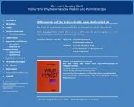 Bild Webseite Ebell Hansjörg Dr.med. Psychotherapie München
