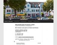 Bild Webseite B. Lothholz & K. Risop-Sterling Physiotherapie Berlin