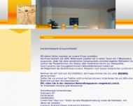 Bild Webseite Krankengymnastik Schlachtensee Berlin