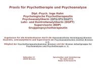 Bild Hahn Inge Psychoanalyse