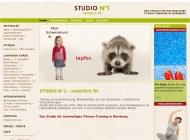 Bild Webseite Fitness - Studio No1 - natürlich fit Nürnberg