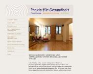 Bild Webseite Physiotherapie Boldt Kathrin Berlin