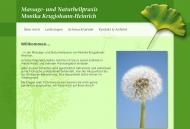Willkommen... Massagepraxis Monika Krugjohann-Heinrich