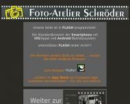 Bild Webseite Schröder Foto-Atelier Magdeburg