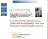 Bild Haydn-Institut, Joseph