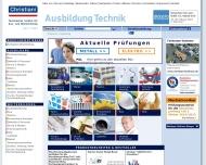 Bild Christiani Dr.-Ing. Paul GmbH & Co.KG Techn. Institut für Aus- u. Weiterbildung