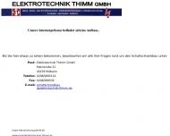 Bild Elektrotechnik Thimm GmbH Schaltanlagenbau