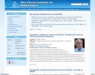 Bild Max-Planck-Institut für Mathematik