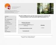 Bild Institut für Psychoanalyse u. Psychotherapie Düsseldorf e.V.
