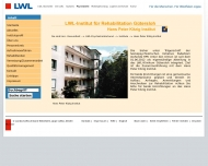 Website LWL-Institut f�r Rehabilitation G�tersloh (Hans Peter Kitzig Institut)