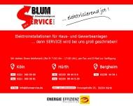 Bild Blum Licht-, Kraft-, Schwachstromanlagen und Service GmbH