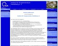 Bild Institut für Gruppenanalyse Heidelberg e.V.