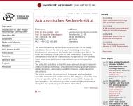 Bild Astronomisches Rechen-Institut Heidelberg