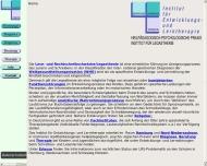 Bild Institut für Entwicklungs- und Lerntherapie Institut für Legasthenie