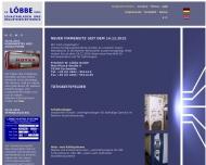 Bild Webseite Friedrich W. Löbbe Aachen