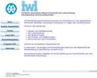 Bild Webseite IWL Institut f.gewerbl. Wasserwirtsch. + Luftreinh Dienstleist. u. Con. Köln
