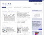 Bild Institut für Demoskopie Allensbach GmbH