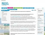 Website INSTITUT FRANCAIS CCCL Mayence