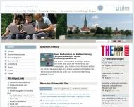 Bild Institut für Lasertechnologien in der Medizin an der Universität Ulm